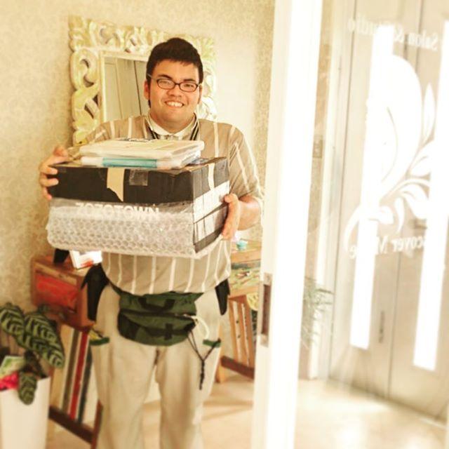 いつも荷物を届けてくださるクロネコヤマトさん